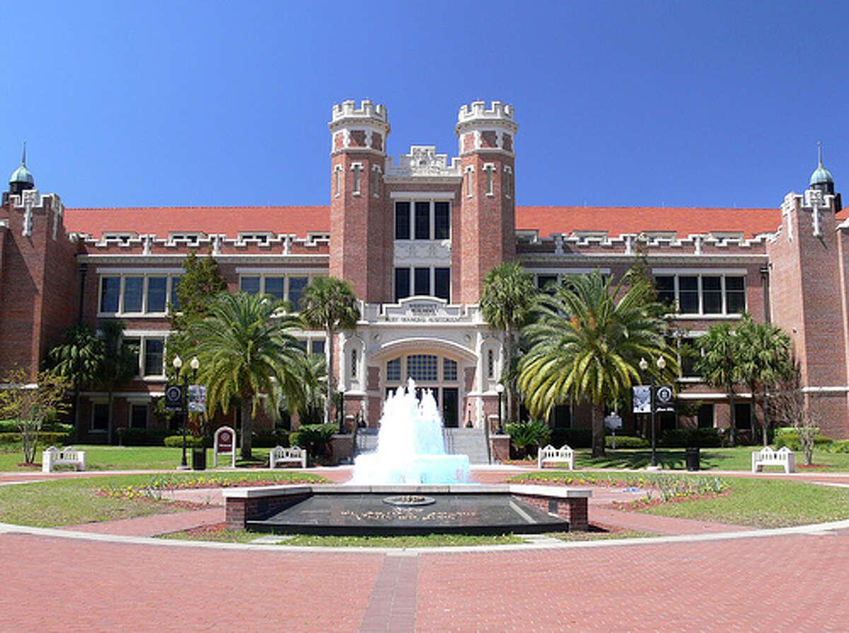 19. Florida State University Total cost per year (in-state): $17,419 Total cost per year (out-of-state): $32,585 Average debt at graduation: $22,555 Credit:Kiplinger