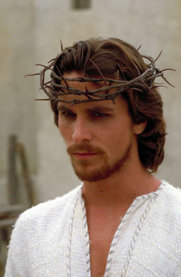 "Christian Bale as Jesus in ""Mary, Mother of Jesus,"" 1999.  Photo: EGON ENDRENYI, NBC"