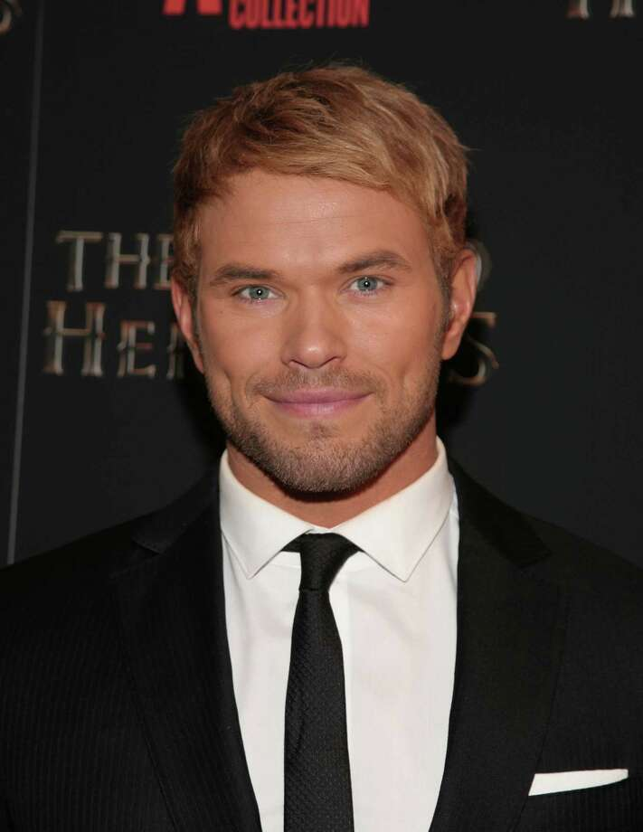 """Actor Kellan Lutz attends a screening of """"The Legend of Hercules"""" on Monday, Jan. 6, 2014, in New York. (Photo by Andy Kropa/Invision/AP) ORG XMIT: NYAK203 Photo: Andy Kropa / Invision"""