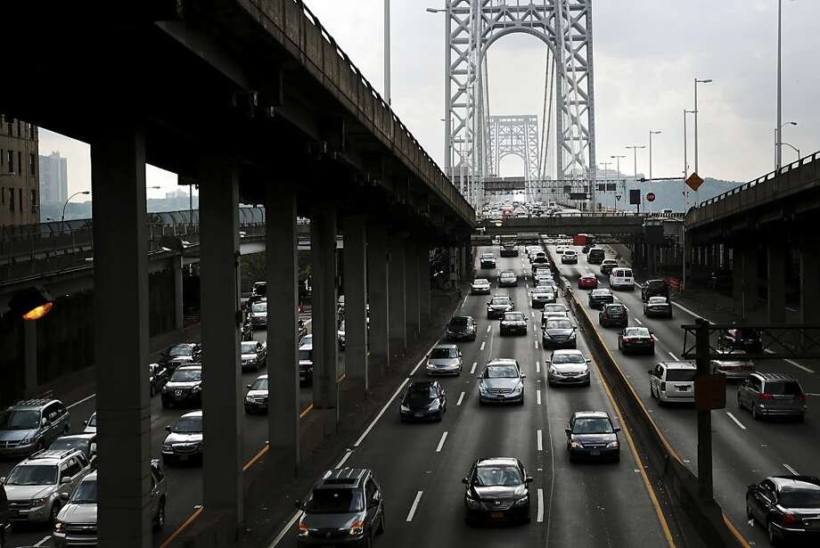 The George Washington Bridge near Fort Lee, N.J., is at the center of a growing political scandal. Photo: Marcus Yam, New York Times