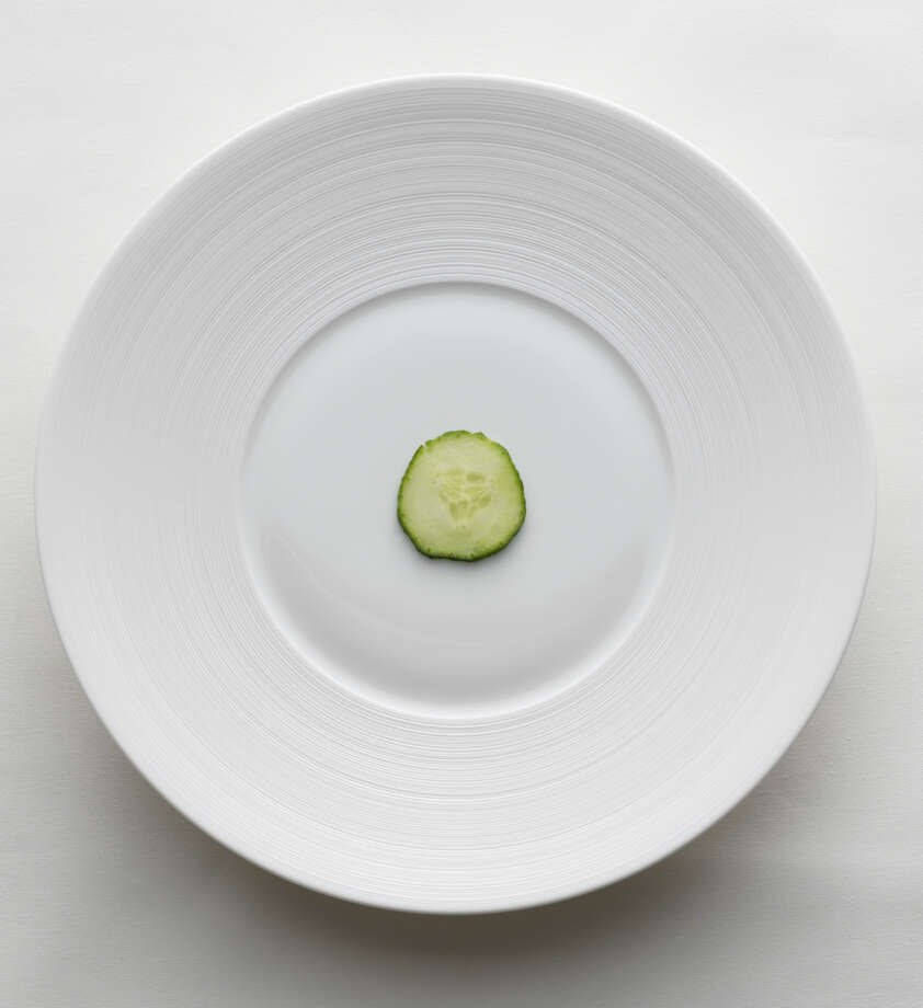 "IN: Small portions. Half portions of entrees and ""grazing"" are also popular. (As long as it isn't of tapas, dim sum or Meze.) Photo: Adrian Mueller - Fabrik Studios, Getty Images / (c) Adrian Mueller - Fabrik Studios"