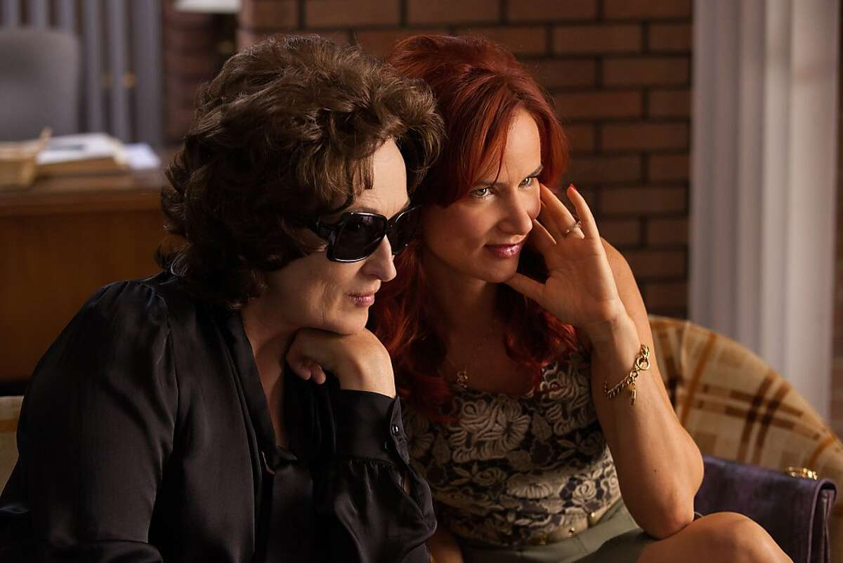 """MERYL STREEP and JULIETTE LEWIS star in""""August: Osage County."""""""
