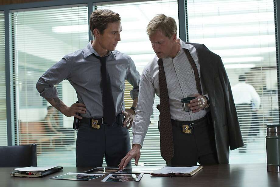 TRUE DETECTIVE episode 3: Matthew McConaughey, Woody Harrelson. Photo: Michele K. Short, HBO