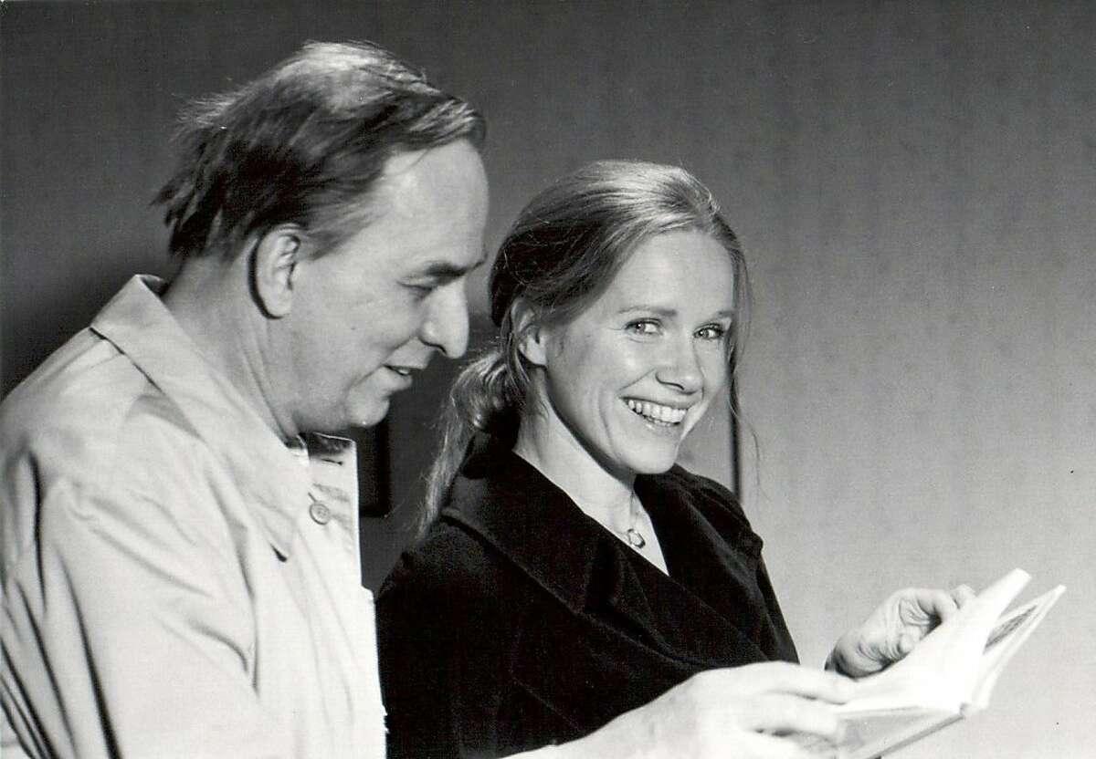 Liv Ullmann and Ingmar Bergman are seen in,