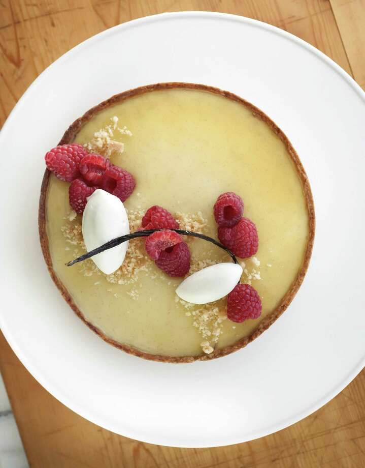 Lemon Tart with raspberries and Chantilly cream from Common Bond Café & Bakery. Photo: Debora Smail / Debora Smail