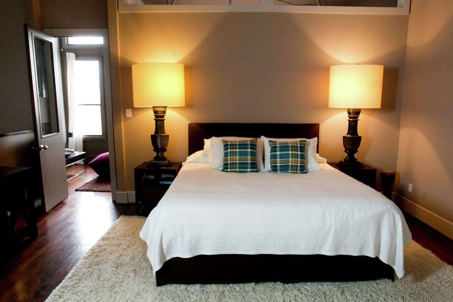 The bedroom at Jason Reeves's home is shown Monday, Jan. 6, 2014, in Houston. ( Brett Coomer / Houston Chronicle ) Photo: Brett Coomer, Staff / © 2014 Houston Chronicle