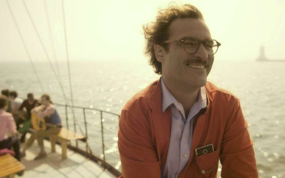 "Joaquin Phoenix was also snubbed for his performance in ""Her,"" the Spike Jonze-directed film about a man in love with his operating system. Photo: Warner Bros. / MCT"