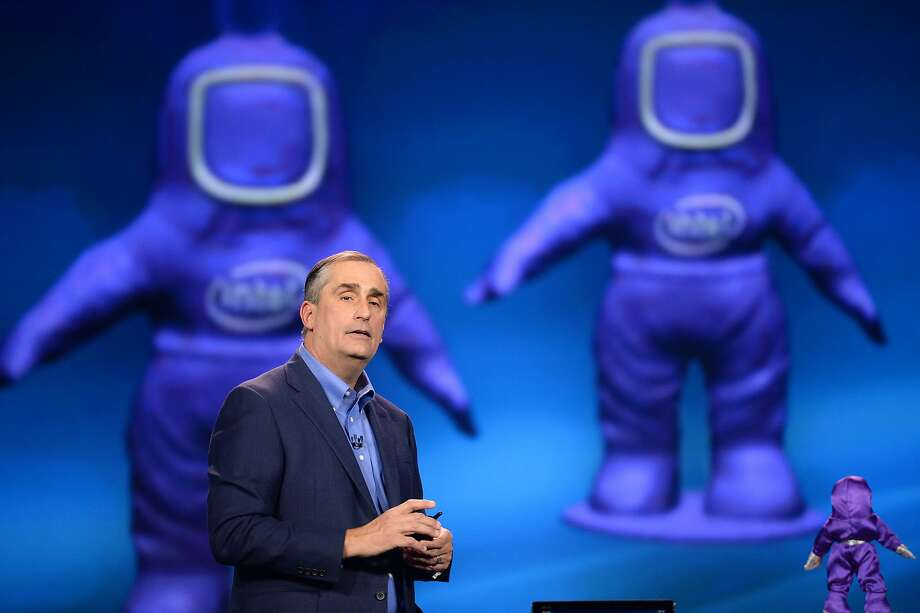 Intel Corp. CEO Brian Krzanich give a keynote address at the 2014 International CES at The Venetian hotel, January 6, 2014 in Las Vegas, Nevada.   AFP PHOTO / ROBYN BECKROBYN BECK/AFP/Getty Images Photo: Robyn Beck, AFP/Getty Images