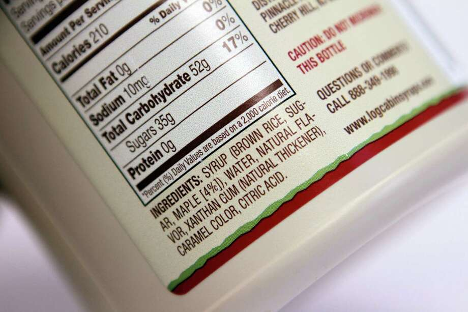 But the AP reports that it may be difficult for the FDA to decide how to tell whether sugar is added or not, because many food manufacturers use natural sugars as additives.  Photo: Toby Talbot, STF / AP