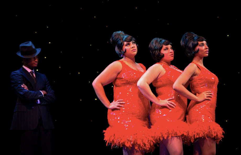 """Dreamgirls,"" presented at the Downtown Cabaret Theatre in Bridgeport, will star, from left, Khallid Graham, Alana Cauthen, Jessica Braun and Danielle Summons. Photo: Contributed Photo / Connecticut Post Contributed"