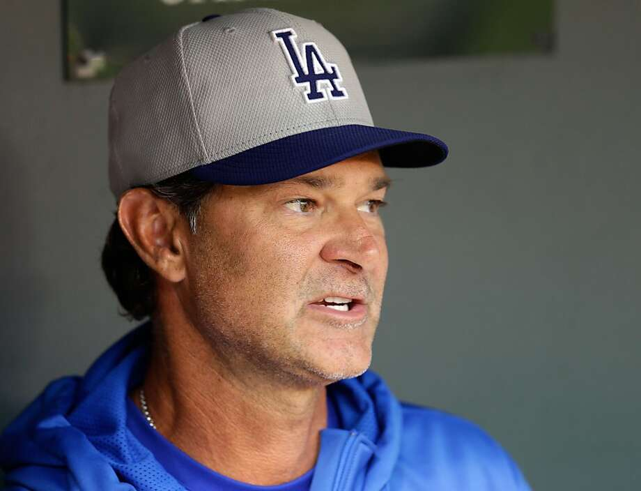 Don Mattingly has a three- year deal with the Dodgers. Photo: Rob Carr, Getty Images