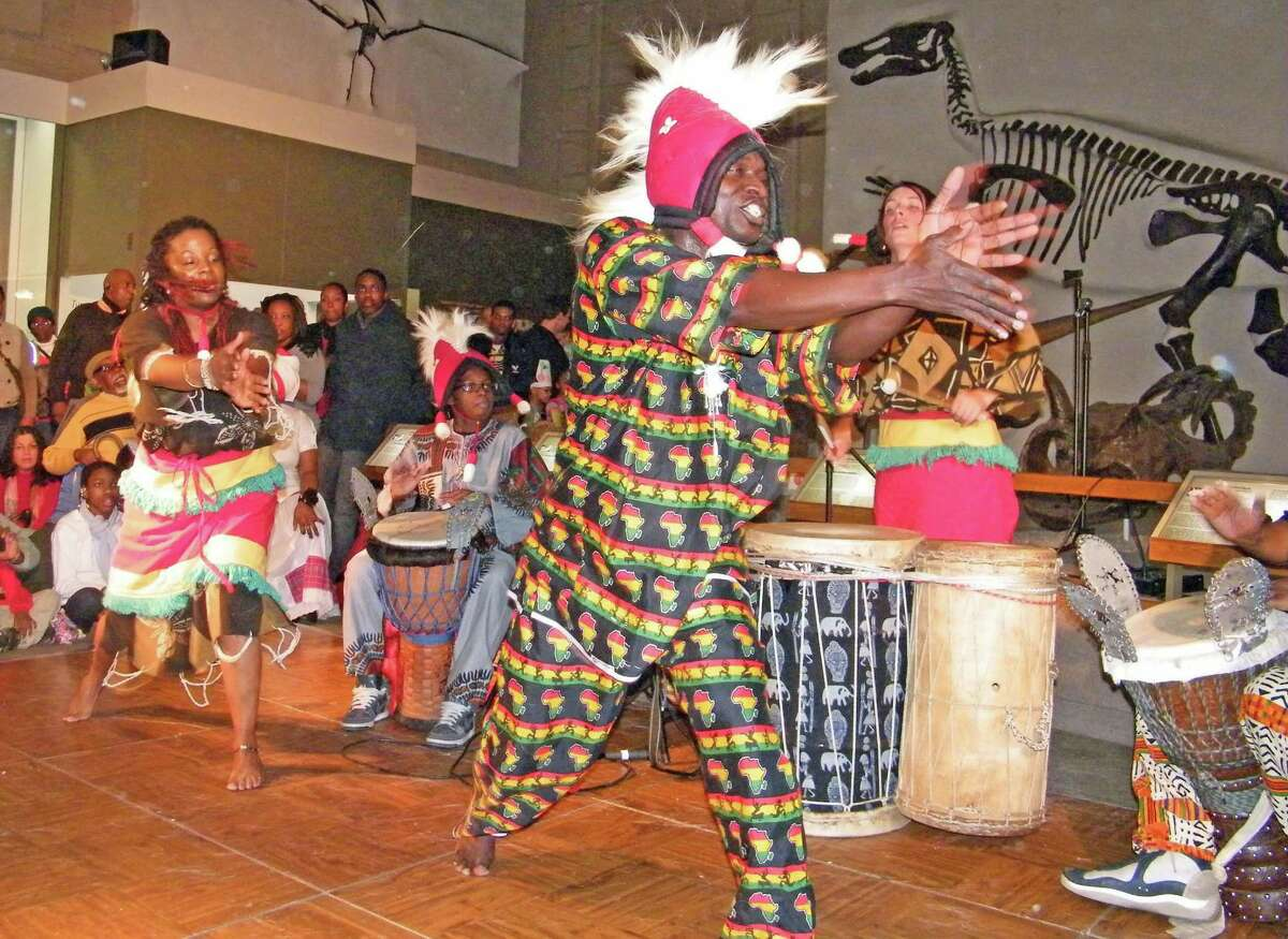 The Kouffin Kanecke Co. will perform Sunday, Jan. 19, as part of a two-day celebration in honor of Martin Luther King Jr. at the Yale Peabody Museum of Natural History. Admission will be free for all.