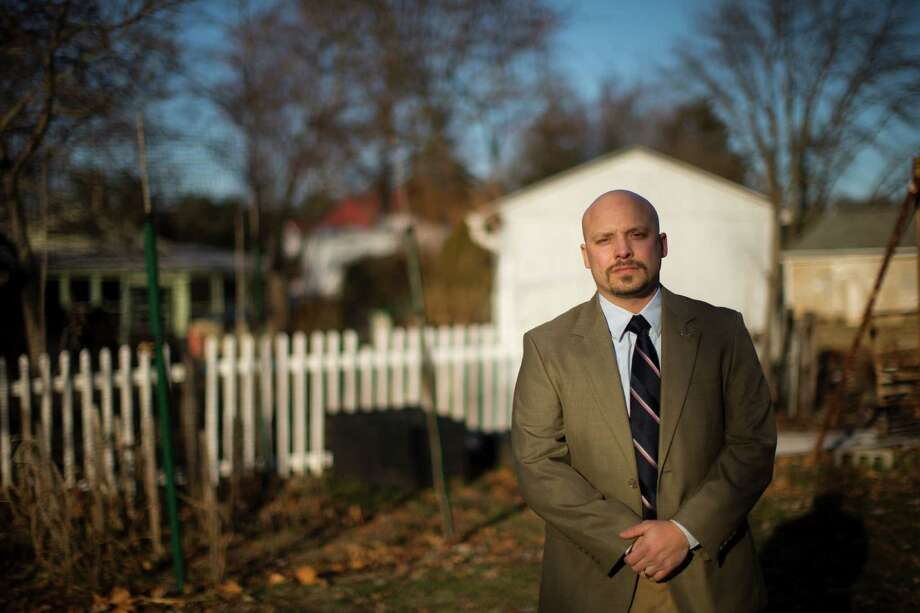 Former Marine scout sniper Earl J. Catagnus Jr., now an assistant professor of history, feels the city's importance has been disproportionately elevated. Photo: Matt Rourke, STF / AP