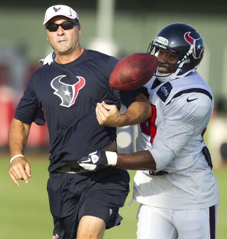 Dan Hammerschmidt (offensive assistant) Photo: Brett Coomer, Houston Chronicle