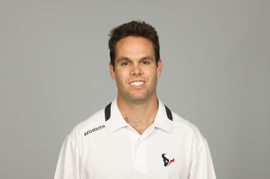 Marc Lubick (assistant wide receivers) Photo: Paul Ladd, Houston Texans