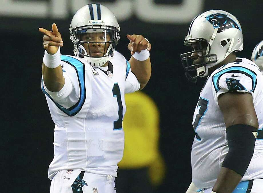 After a 1-3 start this season, quarterback Cam Newton and the Panthers have been heading in the right direction with 11 wins in their last 12 games. Photo: Curtis Compton / Atlanta Journal-Constitution / Atlanta Journal-Constitution