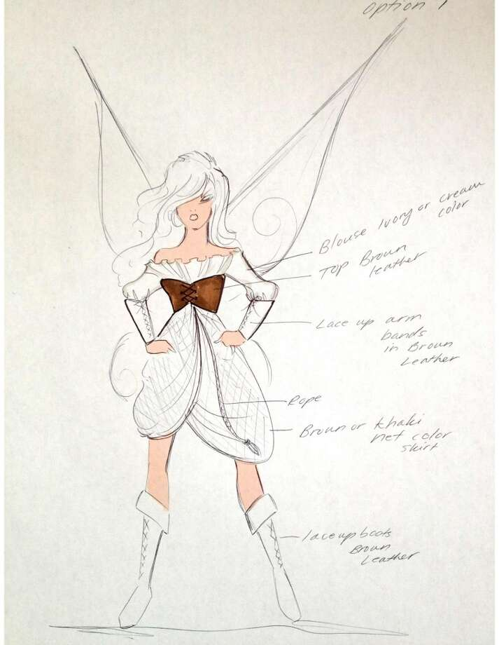"In designing for the first time for an animated character (voiced by Christina Hendricks), Siriano says, ""She's a unique and new character and I wanted to help make her memorable and iconic."" Photo: Disney Enterprises"