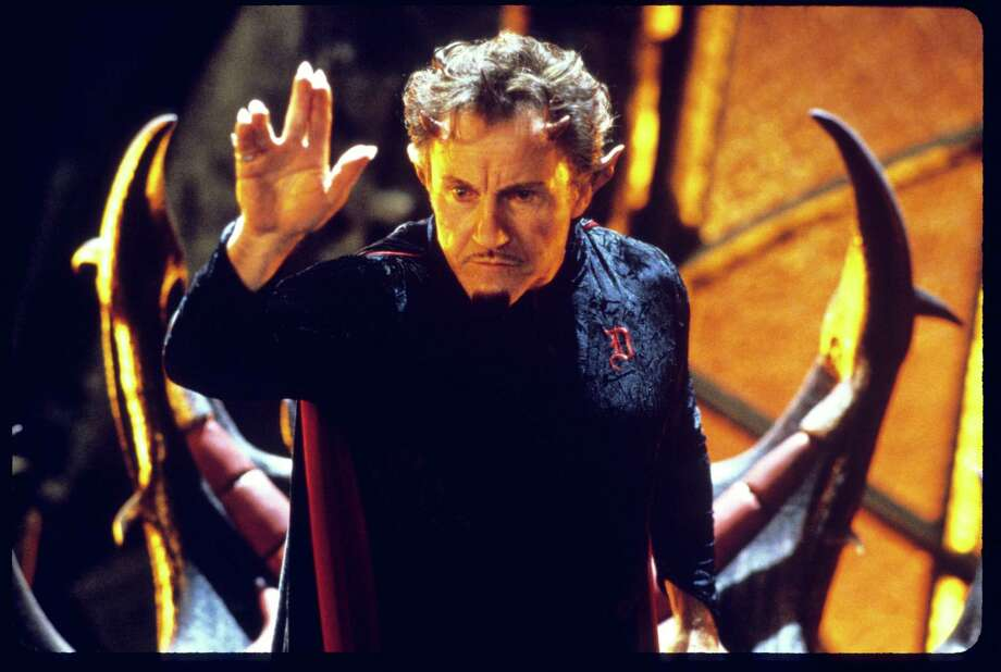 "Harvey Keitel as Satan in ""Little Nicky,"" 2000.   Photo: Myles Aronowitz, New Line Cinema / handout slide"