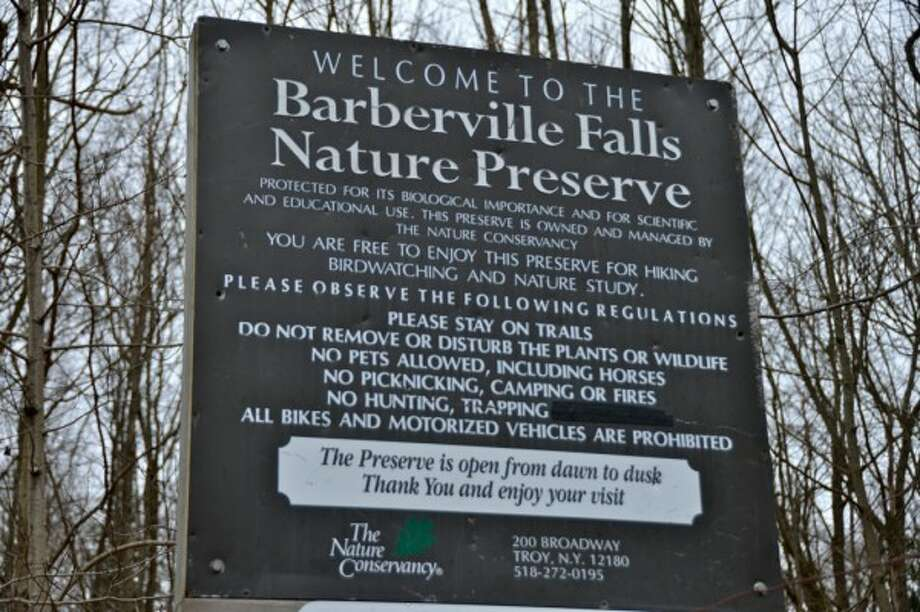 Like waterfalls? Here are some you may not know about that are close by in Rensselaer County. Read more about the hike to Barberville Falls Nature Preserve. Photo: Sonja Stark