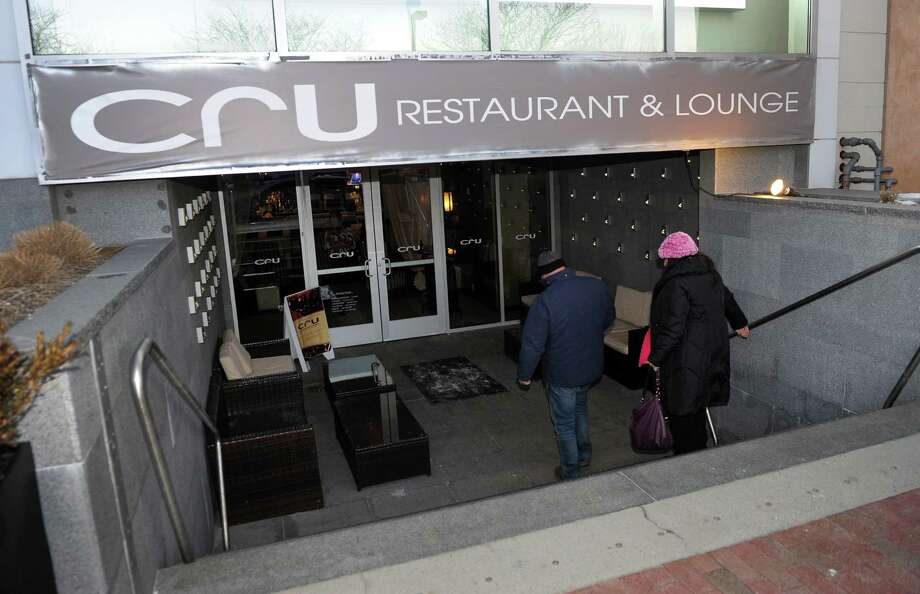 Cru Restaurant & Lounge in downtown Westport, Conn. on Tuesday January 7, 2014. Photo: Christian Abraham / Connecticut Post