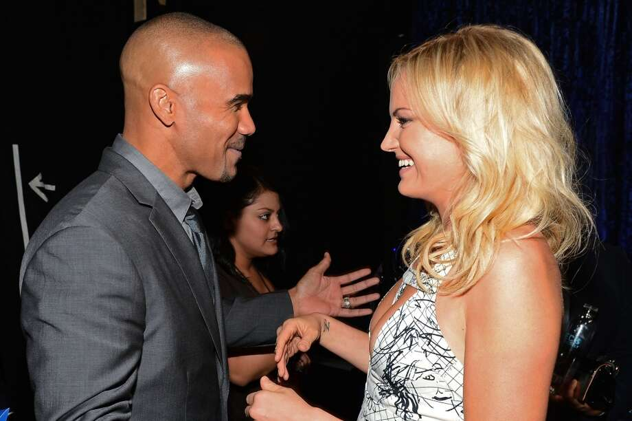 Actor Shemar Moore (L) and actress Malin Akerman attend The 40th Annual People's Choice Awards at Nokia Theatre L.A. Live on January 8, 2014 in Los Angeles, California.  (Photo by Mark Davis/Getty Images for The People's Choice Awards) Photo: Mark Davis