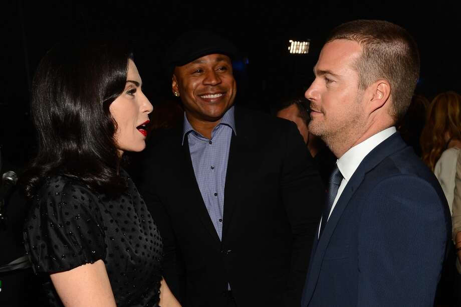 (L-R) Actress Julianna Margulies, actor LL Cool J and actor Chris O'Donnell attend The 40th Annual People's Choice Awards at Nokia Theatre L.A. Live on January 8, 2014 in Los Angeles, California.  (Photo by Mark Davis/Getty Images for The People's Choice Awards) Photo: Mark Davis