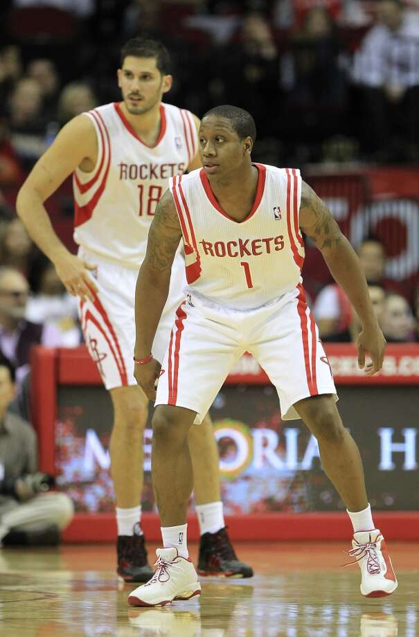 Rockets point guard Isaiah Canaan. Photo: Karen Warren, Houston Chronicle