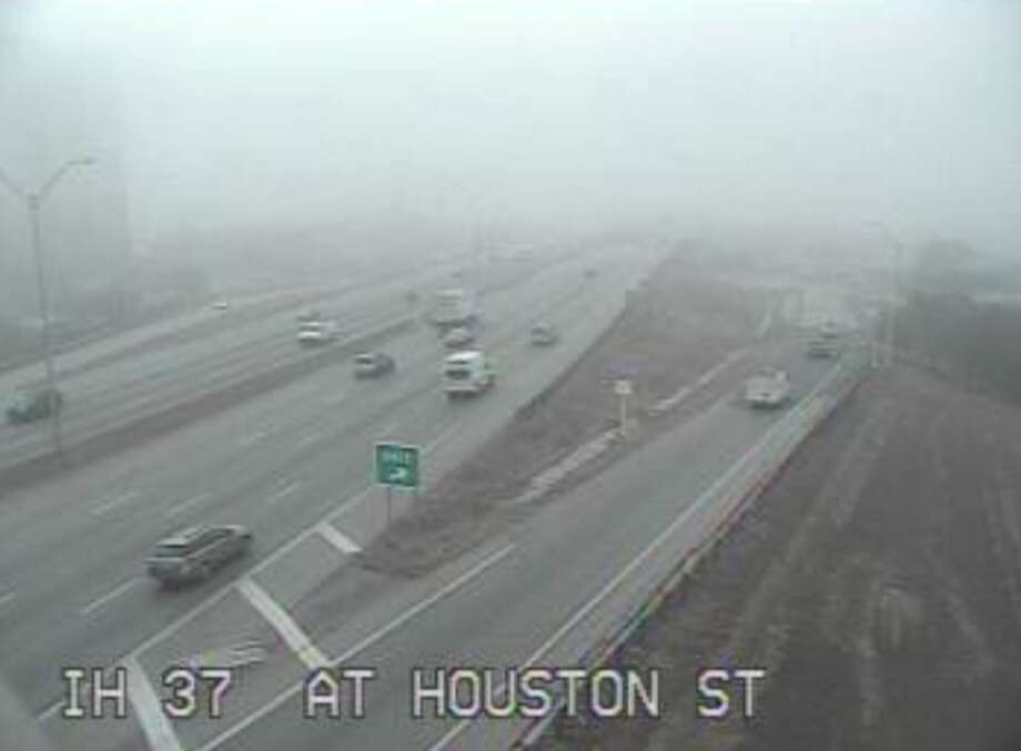 IH 37 at Houston Street Photo: Texas Department Of Transportation