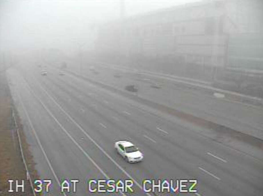 IH 37 at Cesar Chavez Photo: Texas Department Of Transportation