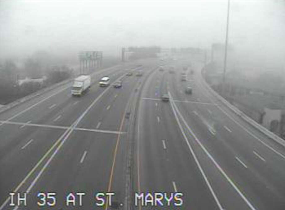 I-35 at St. Mary's Street Photo: Texas Department Of Transportation