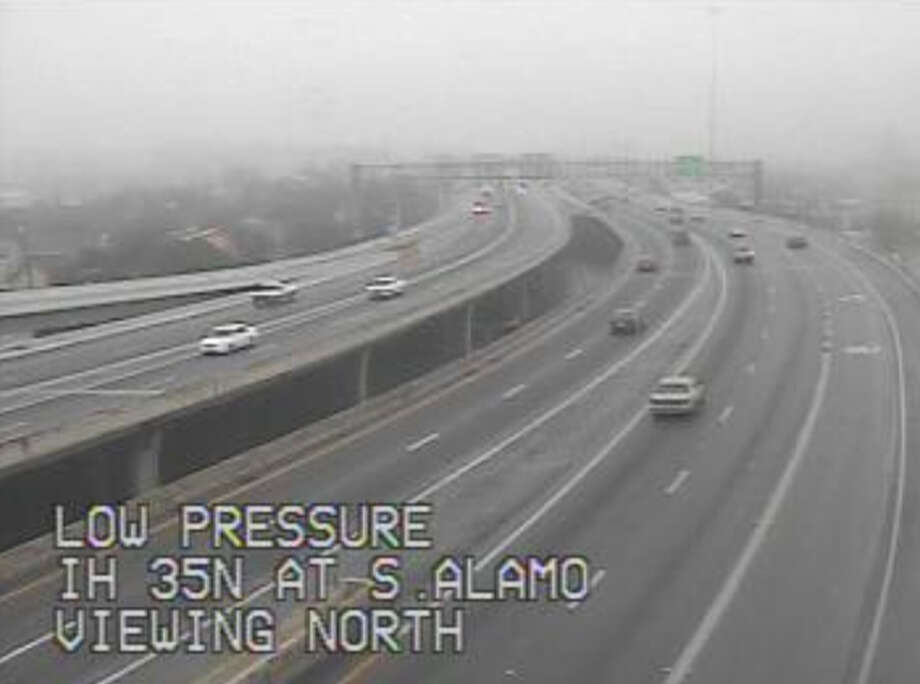 I-35 at S. Alamo Photo: Texas Department Of Transportation