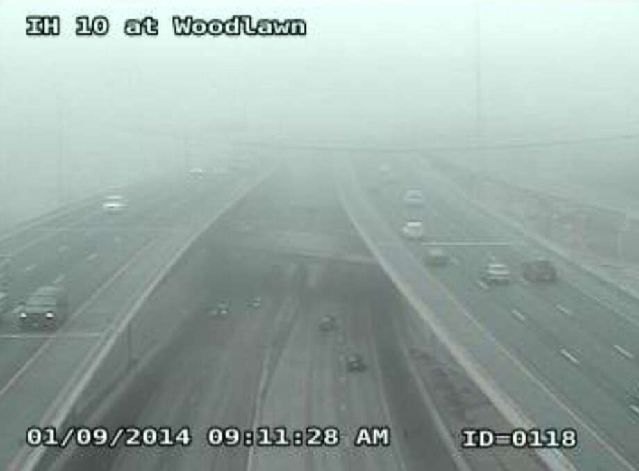 I-10 at Woodlawn Photo: Texas Department Of Transportation