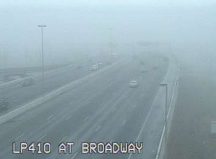 Loop 410 at Broadway Photo: Texas Department Of Transportation