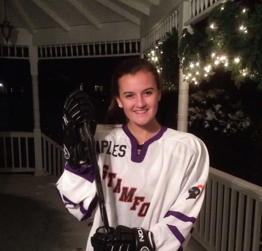 Meg Fay scored five goals in Stamford/Westhill/Staplesí 7-2 win over Greenwich Jan. 4. Photo: Contributed Photo / Westport News Contributed