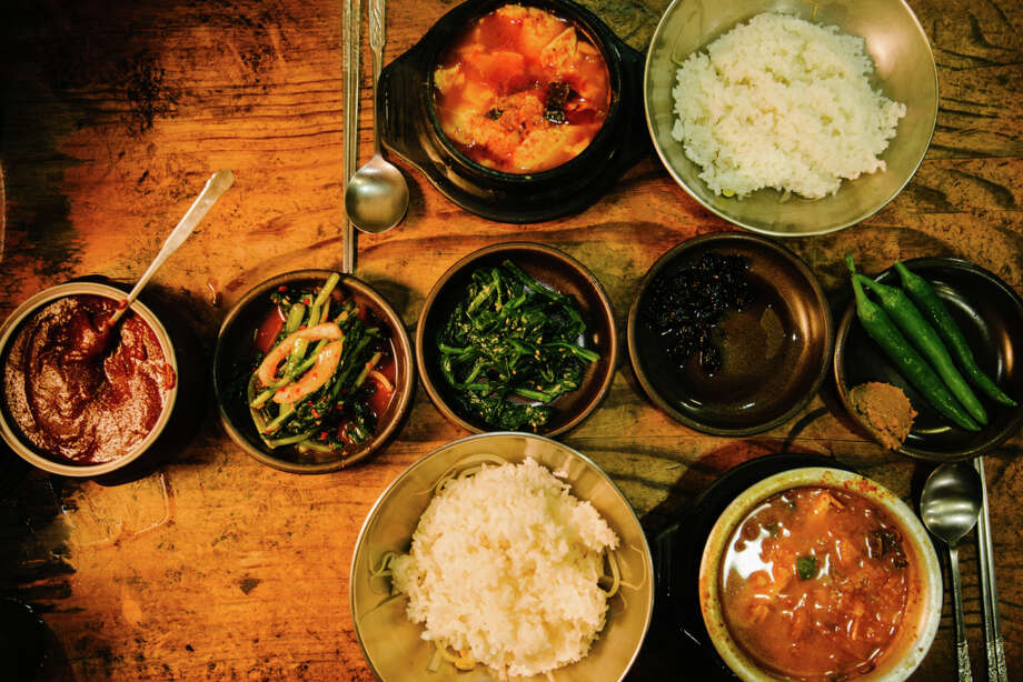 IN: Korean cuisine. Nearly 60 percent of chefs said bi bim bap is hot, and not because of the kimchi. Photo: Photo By Dylan Goldby At WelkinLight Photography, Getty Images / Flickr RF