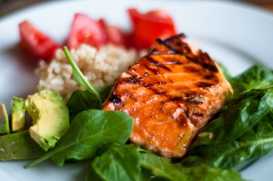IN: Sustainable seafood. Pacific salmon is at the top of sustainable seafood lists. Also trendy: Sustainable meat.  Photo: Nigel O'Neil, Getty Images / Flickr RF