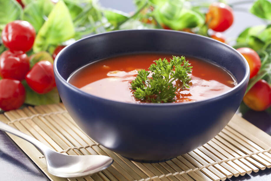 """OUT: Gazpacho. Only 10 percent of chefs rated cold tomato soup as """"hot.""""  Photo: MR.SURAKIT HARNTONGKUL, Getty Images / (c) MR.SURAKIT HARNTONGKUL"""