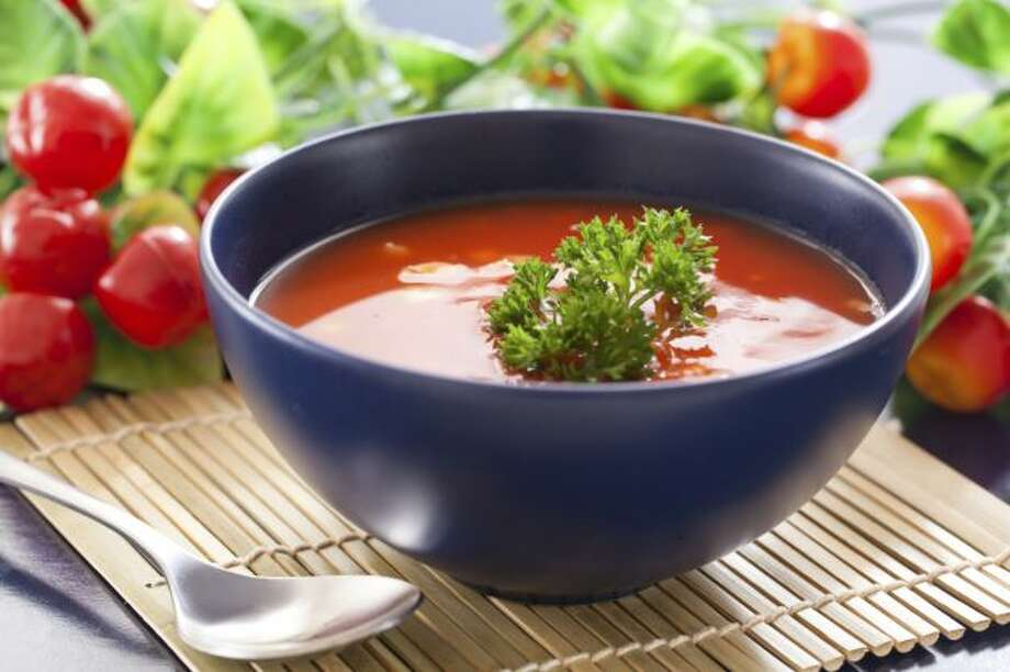 "OUT: Gazpacho. Only 10 percent of chefs rated cold tomato soup as ""hot."" Photo: Courtesy"