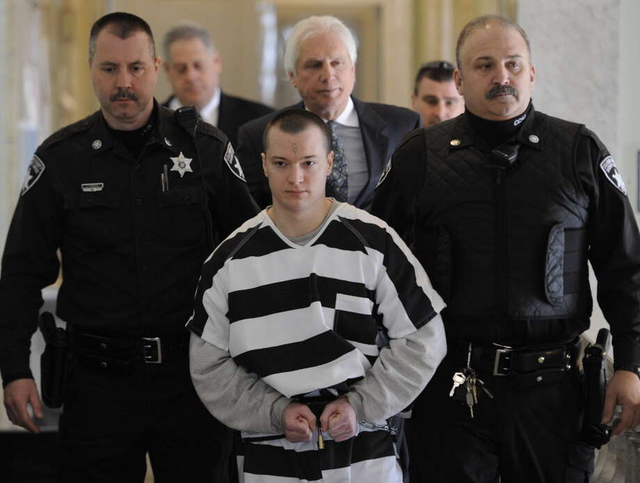 William Demagall is led into Judge John Nichols' courtroom in the Columbia County Courthouse in Hudson on Jan. 25, 2011.   (Skip Dickstein / Times Union archive) Photo: SKIP DICKSTEIN / 2008