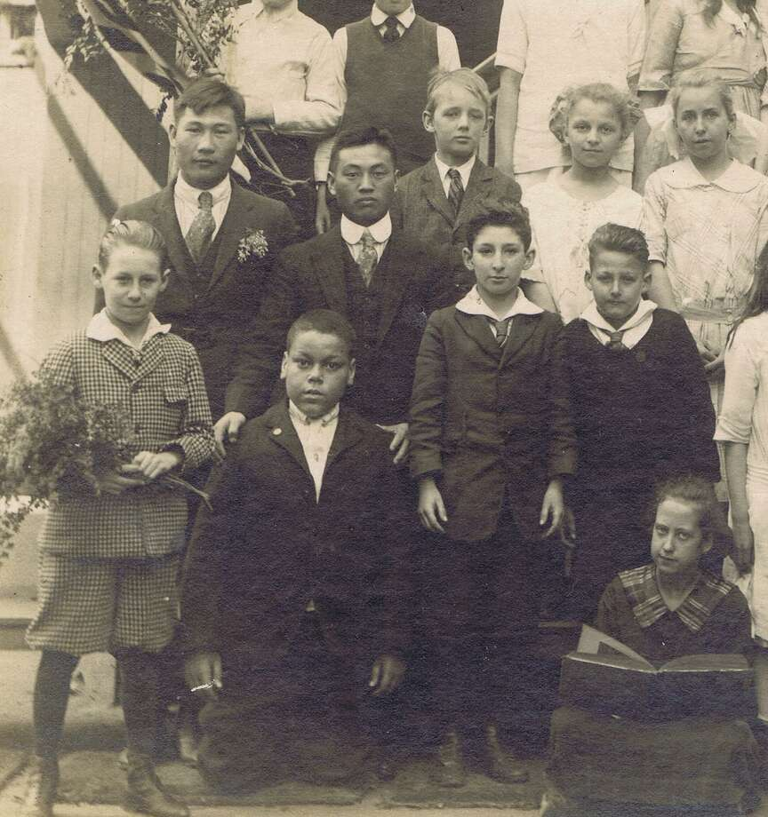 Detail from San Francisco school photo.. From the collection of Bob Bragman Photo: From The Collection Of Bob Bragman