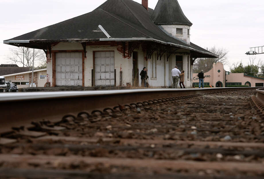 Could new life be down the line for historic Orange train ... on small church floor plans, architecture house plans, model railroad engine house plans, railroad house floor plan, railroad building drawings, railroad depot furniture, model rail plans, vintage railroad depot plans, o 27 scale track plans, railroad platform plans, railroad depot drawings, train depot building plans, railroad apartment floor plan, atlas plans, car plans, s gauge track plans, simple model railroad track plans,
