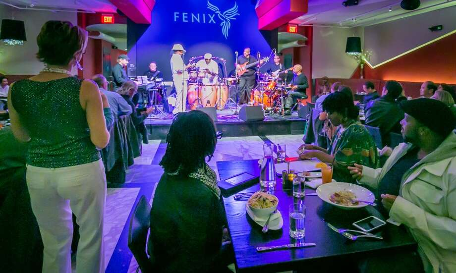 People enjoy dinner listening to music at the Fenix in San Rafael. Photo: John Storey, Special To The Chronicle