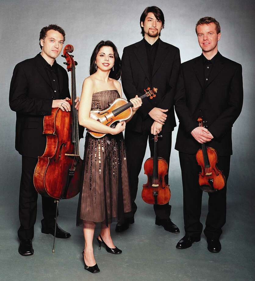 Bloomington, Ind.-based Pacifica Quartet, which features cellist Brandon Vamos, violinist Simin Ganatra, violist Masumi Per Rostad and violinist Sibbi Bernhardsson, is expected to perform Friday, Jan. 10, 2014, at the Emelin Theatre in Mamaroneck, N.Y. Call 914-698-0098 or visit www.emelin.org for tickets. Photo: Contributed Photo / Stamford Advocate Contributed