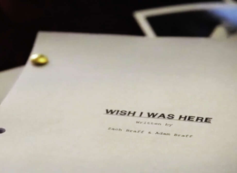 """""""Wish I was Here,"""" written and directed by Zach Braff, is Braff's follow up movie to """"Garden State."""" More than 46,000 backers raised $3.1 million for the Kickstarter project. Braff and company were originally looking for a total backing of $2 million. Clickherefor more informationon """"Wish I Was Here."""" Photo: Kickstarter.com"""
