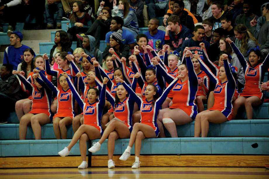 Boys FCIAC basketball game between Norwalk and Danbury high schools played at Danbury High School, Danbury, Conn, on Wednesday, January 8, 2014. Photo: H John Voorhees III / The News-Times Freelance