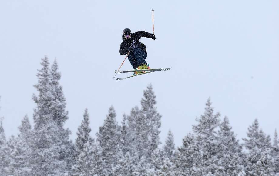 Harry Pettit of New Zeland competes in the men's ski slopestyle qualification during day one of the U.S. Snowboarding and Freeskiing Grand Prix Breckenridge on Jan. 8, 2014 in Breckenridge, Colo. Photo: Streeter Lecka, Getty Images