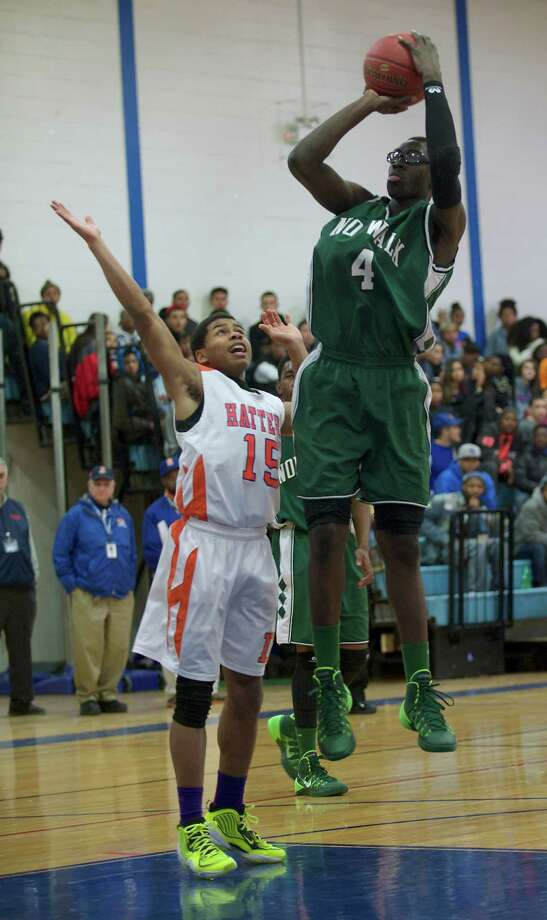 Roy Kane Jr., Norwalk. FCIAC First Team. Photo: H John Voorhees III / The News-Times Freelance