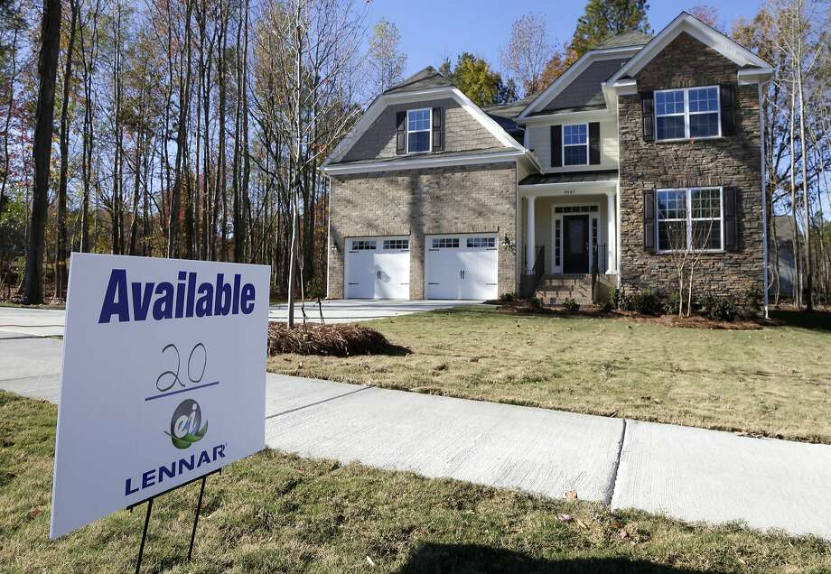 Sales of homes like this on in Matthews, N.C., have slowed as mortgage rates have risen since last year. Photo: Chuck Burton, Associated Press