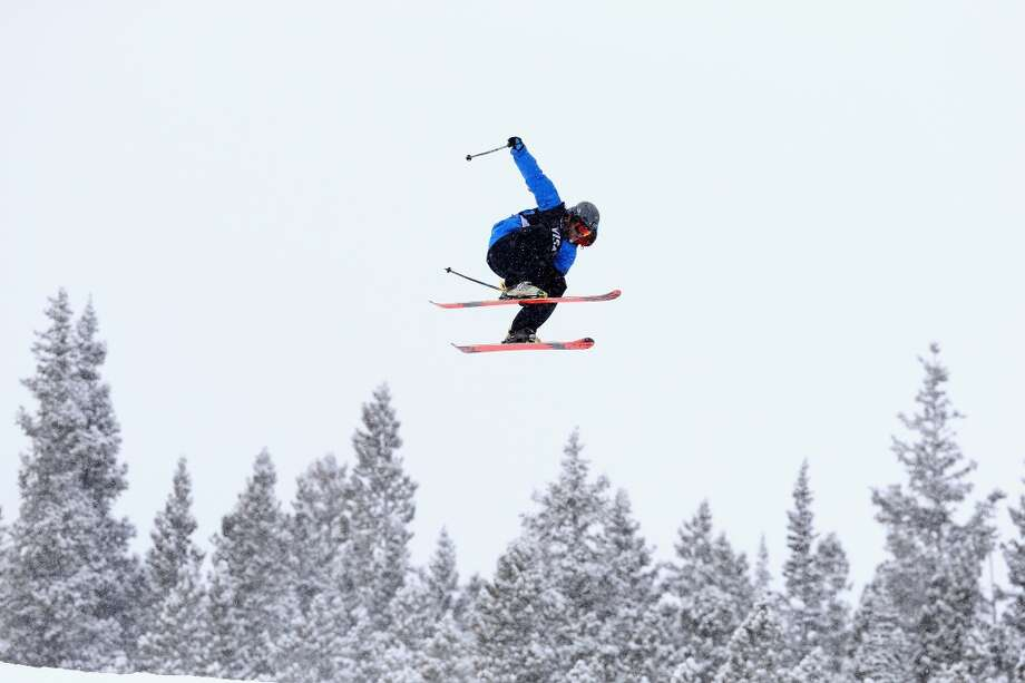 Aleksander Aurdal of Norway competes in the men's ski slopestyle qualification during day one of the U.S. Snowboarding and Freeskiing Grand Prix Breckenridge on Jan. 8, 2014 in Breckenridge, Colo. Photo: Streeter Lecka, Getty Images
