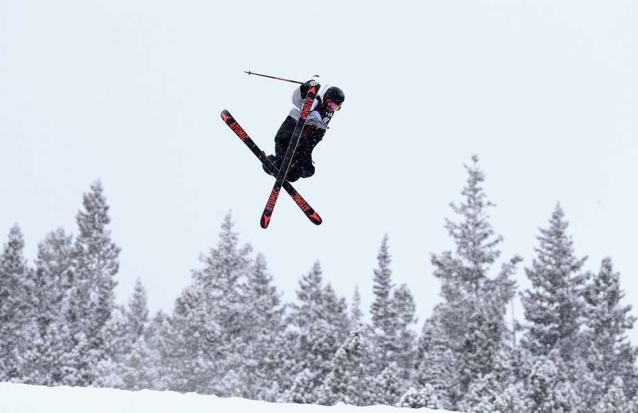 Florian Preuss of Germany competes in the men's ski slopestyle qualification during day one of the U.S. Snowboarding and Freeskiing Grand Prix Breckenridge on Jan. 8, 2014 in Breckenridge, Colo. Photo: Streeter Lecka, Getty Images